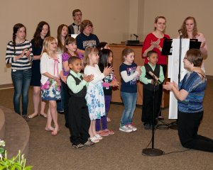 2013 First Communion Choir